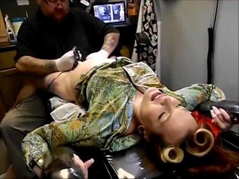Tatuagem na buceta ai que dor