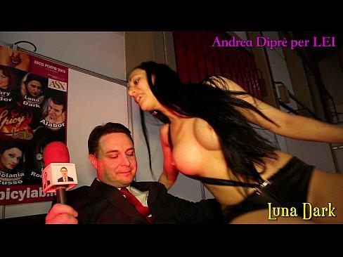 Luna Dark shows her open vagina and more for Andrea Diprè