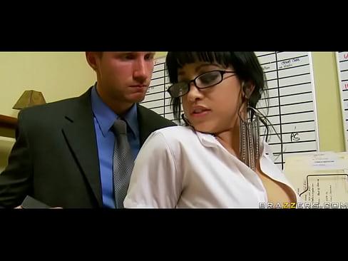 1 min 7 sec Abella Anderson in Suckretary