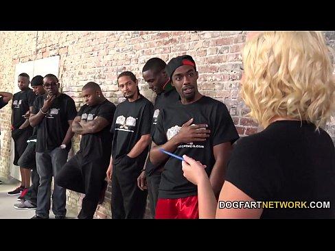 Cindy Lou Lets A Dozen Black Guys Fuck Her