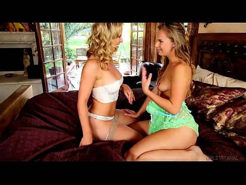 Jillian Janson and Cherie DeVille Try Anal