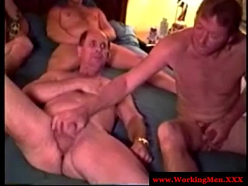 from Rogelio old gay men orgy