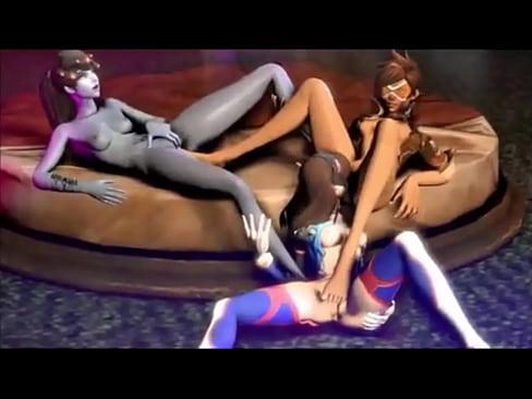 Lesbians big tits scissoring