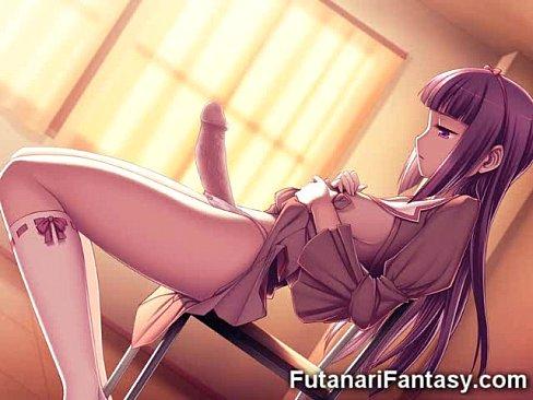 Best 3D Futanari Cumshots!