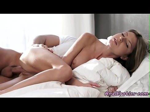 Assfucked beauty loves cowgirl position