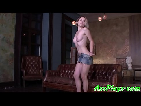 Petite eurobabe assfucked in highheels