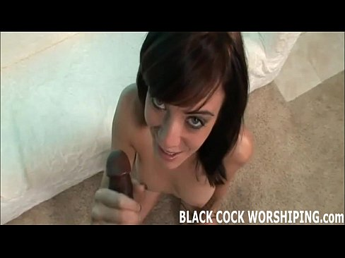 Big black cocks make me cum so fucking hard