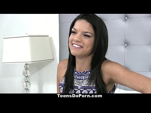 TeensDoPorn - Latina Carrie Brooks' Hardcore Porn Debut!