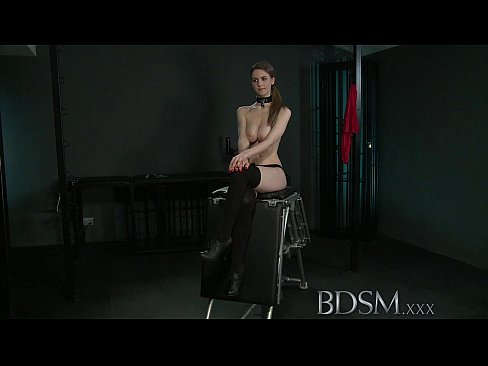BDSM XXX Young big breasted sub gets hard anal from her Master ...