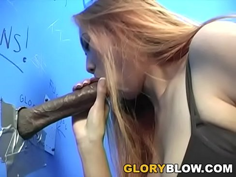Busty Asian Sin-Eye Gives Blowjob To A BBC - Gloryhole