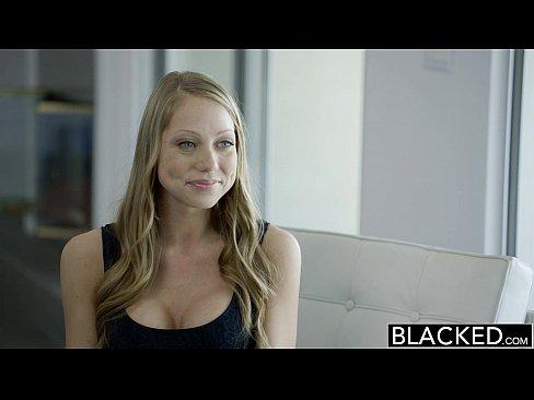 BLACKED Petite Blonde Shawna Lenee Screams On Huge Black Dick