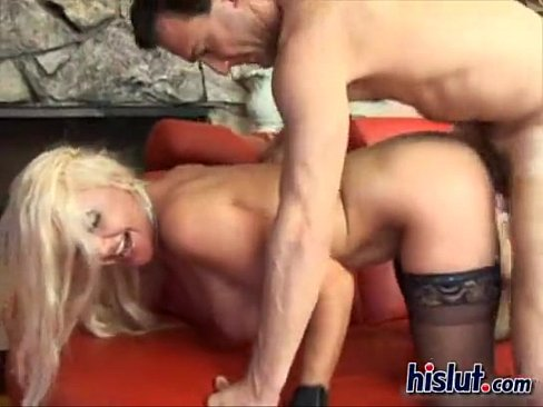 Slutty blonde Claire LaFemmeDC gets fucked by a big cock