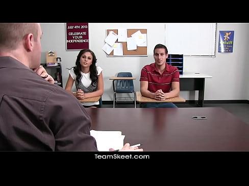 Highschool teenager spunk