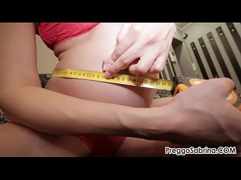 Sabrina Takes Her Measurements, Then Gets Naked!