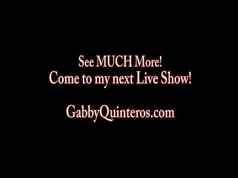 Gabby Em Cenas De Muita Masturbação
