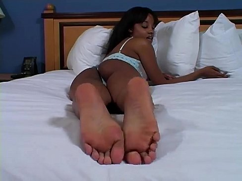 sexy black feet porn Try this free  Sexy footjob from an  ebony pornstar.