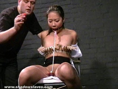 Grande Asian electric bondage Jayden Jaymes!
