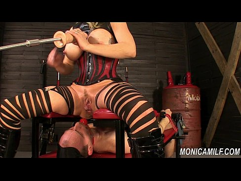 Inside monicamilf s dungeon 30 min femdom slave 9