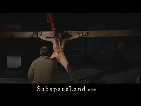 Painful punishment for a hardcore slave bitch