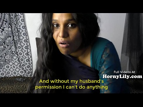 Bored Indian Housewife begs for threesome in Hi...