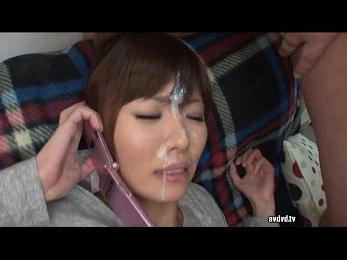 <ブッカケ動画>今村美穂