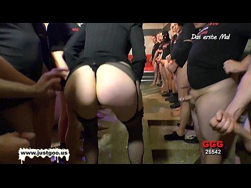 Nerdy Librarian Manu Huge Gangbang – German Goo Girls!
