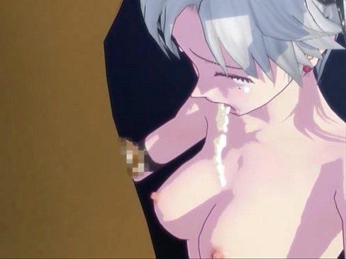 銀髪の毛の萌系ボイン美しい幼女が男達に挟まれて輪姦婦女暴行☆   【爆乳】