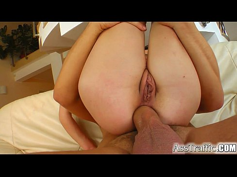 Ass Traffic Spicy little number's ass rocked by cock