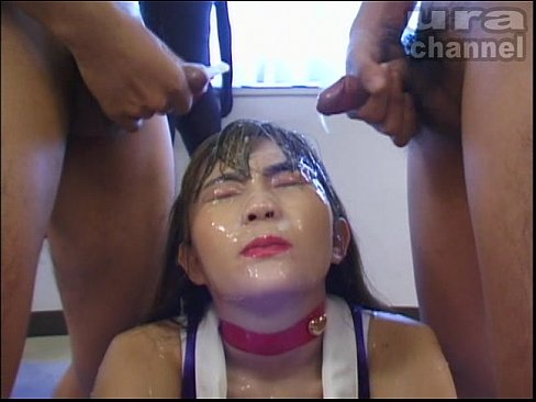 lil japanese cutie looking amazing takes consecutive cumshots and bukkake (1)