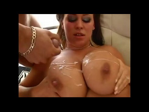 big tits on cock Horny  Blonde Cougar Housewife Plays With Big Tits And Pussy In Sexy Nylons.