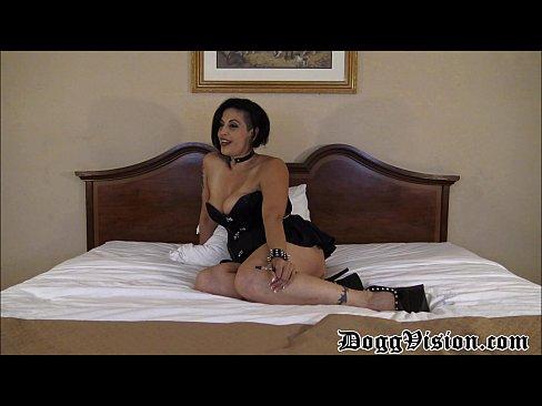 Mature Vaping Latina Interview and Spanking