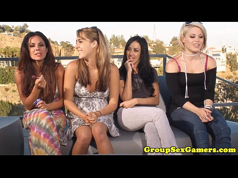 Outdoor Lesbian Sexgame Contest