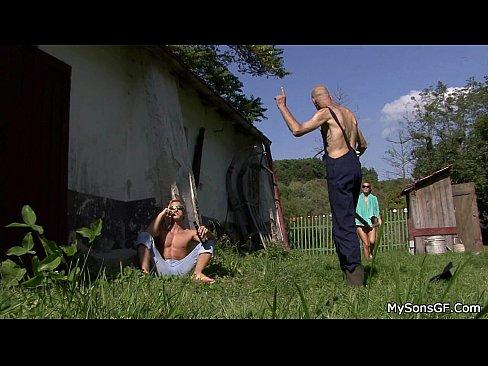 Anal Teen German Gangbang Bukkake