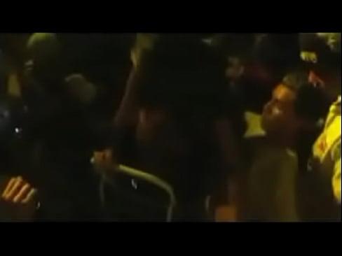 groping ass on festival encoxada