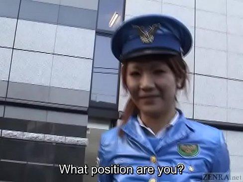 Asiatica Japoneza Care E Politista Se Fute In Public