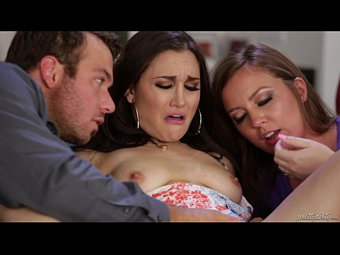 Sister-in-law teaching how to squirt – Maddy O'Reilly, Gabi Paltrova, Chad White