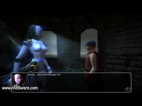 Monster Girl Quest 3D Succubot Scene