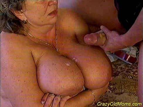older mom sex videos Two young dudes bang old mom.