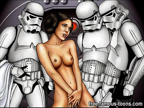 Секс порно звёздные войны