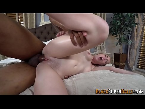 Blonde fucks black shlong