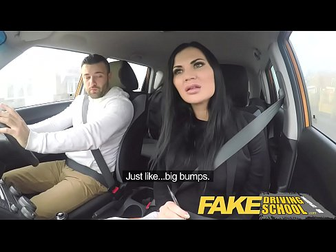 Fake Driving School Jasmine Jae fully naked sex...