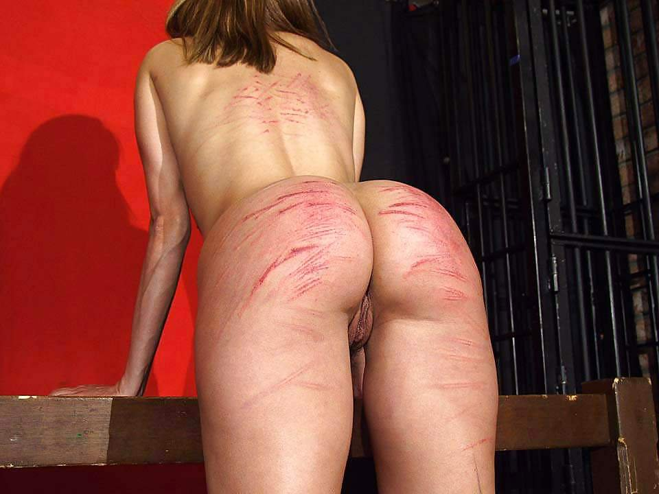 Extreme caning anal punishment