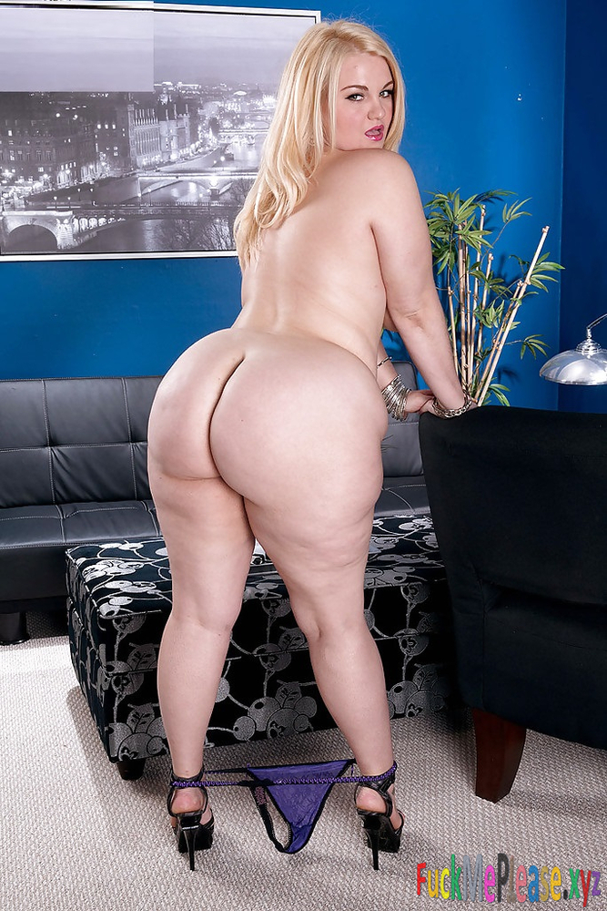Thick ass blonde for nylon pantyhose