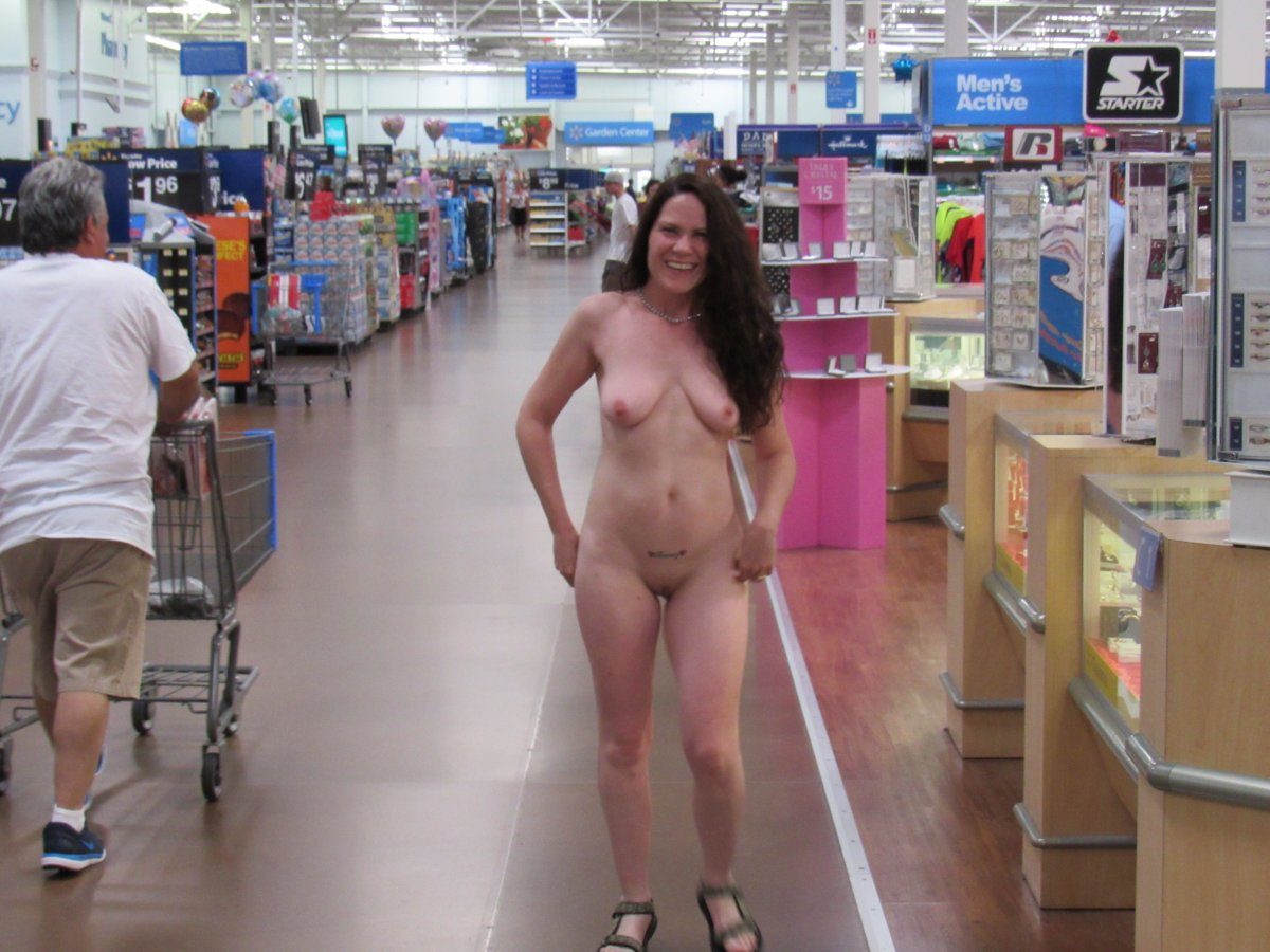 Seems me, Naked people at walmart