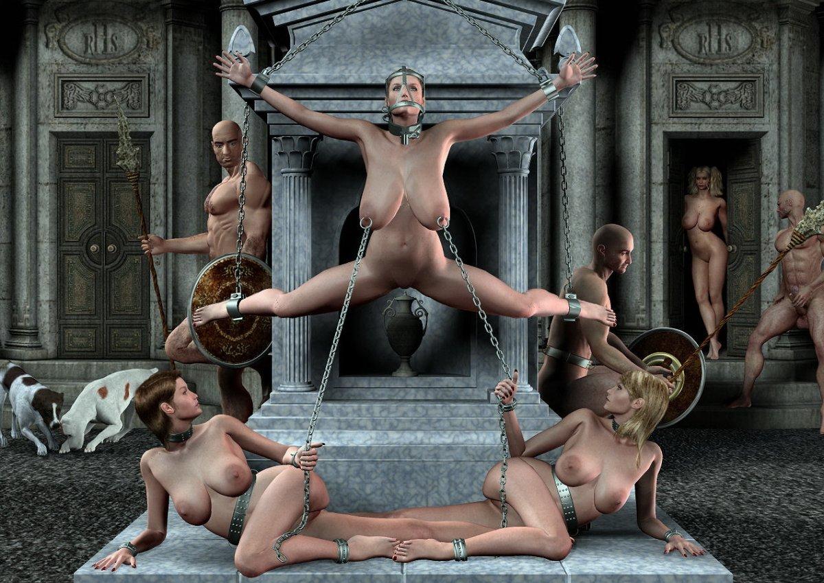 замок женщин порно