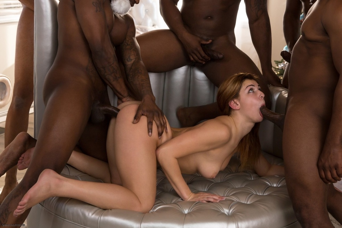 Xxx interracial gangbang trailers — photo 15