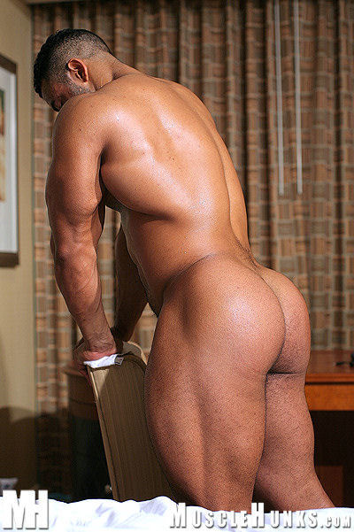 Naked male strippers with big asses, milking the prostate for control domination
