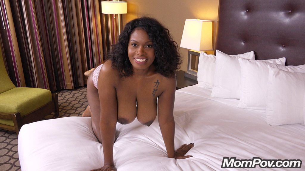 Year Old Black Milf Has Epic Natural Tits Part