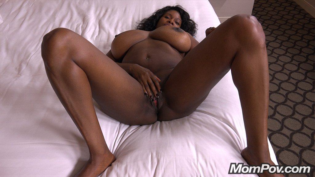 Ebony Bbw Riding Cowgirl
