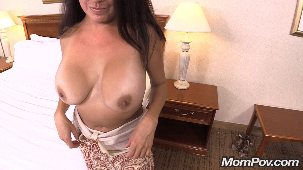 Big old tits latina